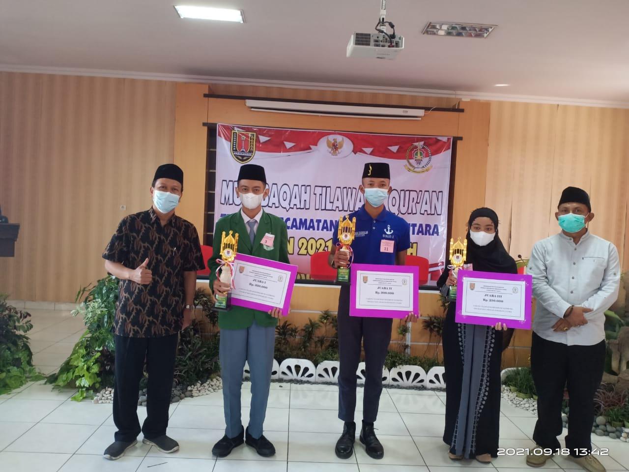 Juarai Lomba Tilawatil Quran, Guru-guru: Semoga Bisa Lolos ke Tingkat Kota