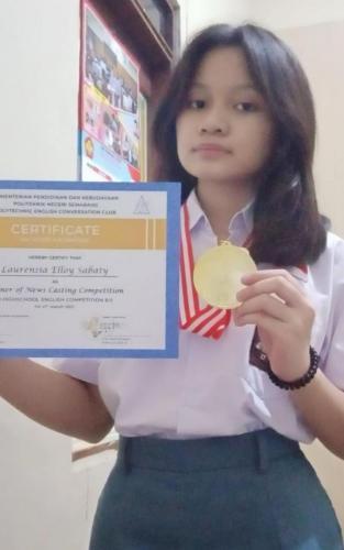 Prestasi Siswa SMA Negri 14 Semarang