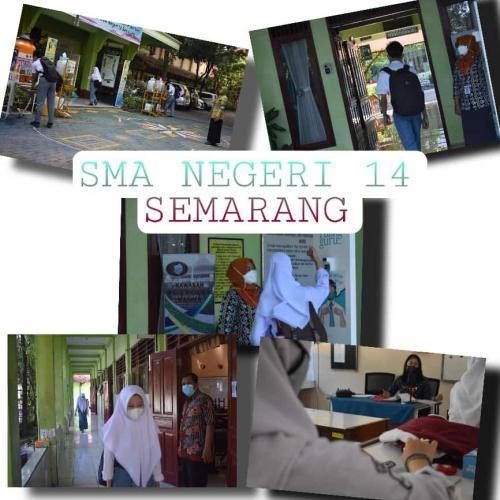 Galeri PTM Terbatas SMA Negeri 14 Semarang